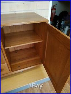 1960s Ercol Windsor Sideboard TV Cabinet Cupboard Vintage Retro MidCentury VGC