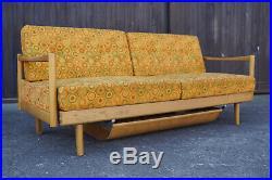 60er Mid-Century Sofa Daybed Retro Couch Schlafsofa Vintage Danish Stella Ära