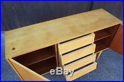 60er Vintage Sideboard Kommode Esche Retro Anrichte Danish Credenza Mid-Century