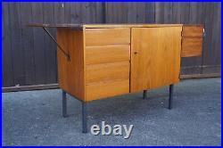 60er Vintage Sideboard Kommode Teak Retro Anrichte Danish Sekretär Mid-Century