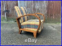 Art deco armchair, mid century, retro, vintage