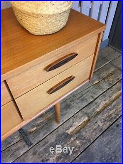 Austinsuite Vintage Retro Compact Sideboard Drawers Teak Cabinet Mid Century