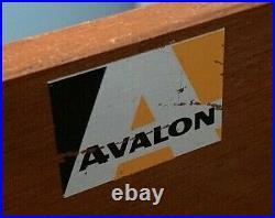 Avalon Teak Chest of Drawers (Retro/Vintage/Mid Century)