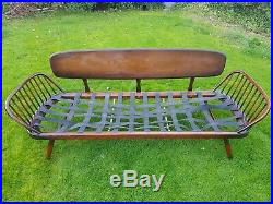 Ercol Day Bed Studio Couch Vintage Retro Mid Century DELIVERY AVAILABLE
