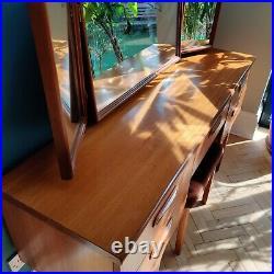 G Plan Fresco Dressing Table with mirror Desk Mid Century Vintage Retro Teak
