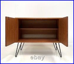G Plan Fresco Vintage Retro Teak Cabinet /cupboard / Sideboard Hairpin Legs