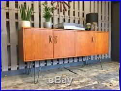 G Plan Teak Vintage Retro Sideboard Cabinet Mid Century Modern Media Unit