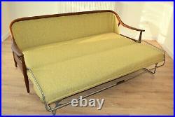 Greaves and Thomas Retro sofa bed, vintage sofa bed, mid century modern sofa bed