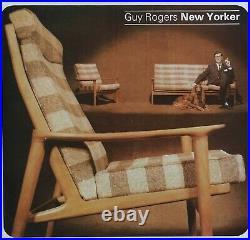 Guy Rogers New Yorker chars, mid century danish, vintage, retro