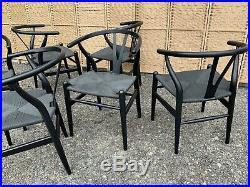 Hans J Wegner repro wishbone x 6 chairs, mid century, Retro, vintage