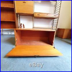 Ladderax Cabinet Key Mid Century Vintage Teak Retro London SE15