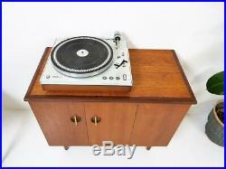 MID Century Danish Teak Sideboard / Record Cabinet
