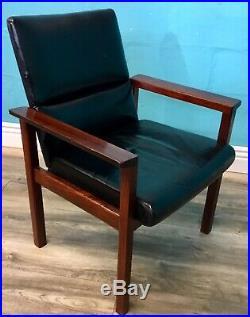 MID Century Rosewood Arnie Vodder Armchair Retro Danish