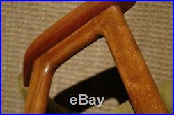 Mid Century Danish Desk Chair Armchair Edmund Jorgensen Vintage