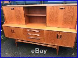 Mid Century G Plan Sideboard Cabinet Retro Vintage teak Danish