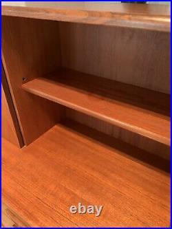 Mid Century G Plan Vintage Sideboard, Danish Teak Display Cabinet