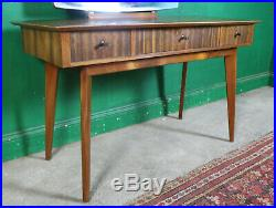 Mid Century Morris of Glasgow Dressing Table, Cumbrae, Walnut, Retro, Vintage
