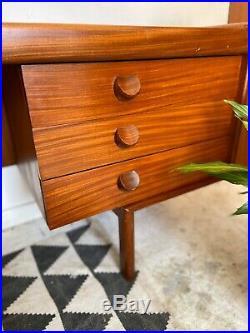 Mid Century Retro Vintage Dressing Table Desk