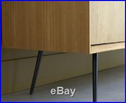 Mid Century Sideboard Vintage Danish Furniture Solid Teak Wood Large Retro Unit