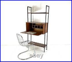 Mid Century Teak Avalon Ladderax Modular Shelving Desk Home Office Unit Bureau