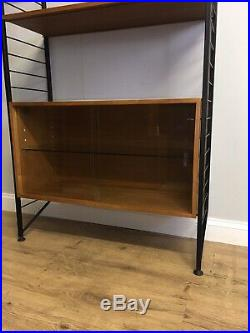 Mid Century Vintage Teak Ladderax, Wall Units Delivery Poss
