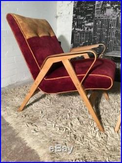 Mid century armchair, Iconic TATRA armchairs, Vintage, Mid-century