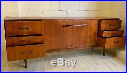 Midcentury Teak Sideboard Retro 1960s British Vintage (delivery available)