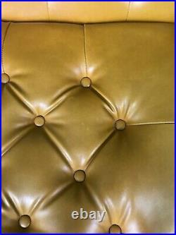 Mustard Vintage Retro Mid Century Modular Sofa Settee 1970s set of 7