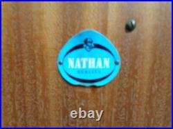 RETRO TEAK NATHAN COCKTAIL CABINET VINTAGE 50s 60s SIDEBOARD MID CENTURY BAR