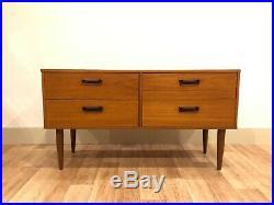 Retro Mid Century Sideboard Dresser Vintage Teak Danish Design Style