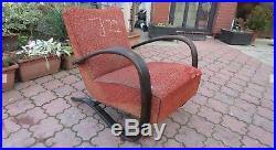 Retro Vintage Czech MID Century 269 Halabala Arm Chair