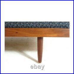 Retro Vintage Mid Century Danish Teak 50s 60s 70s Daybed Single Futon Sofa Bed
