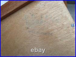 Retro Vintage Mid Century G Roch. Of France 6 Draw TallBoy Cabinet Drawers