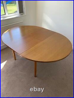 Retro/Vintage/Mid Century Modern Teak G Plan Extendable Dining Table