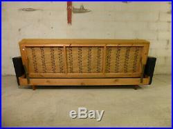 SB027 Sofa Bed Day Bed Mid-Century Danish Modern Studio Couch Vintage Retro