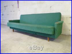 SB032 Sofa Bed Day Bed Mid-Century Danish Modern Studio Couch Vintage Retro