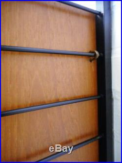 Staples Ladderax Mid Century Retro Vintage 60s Shelving System Bureau