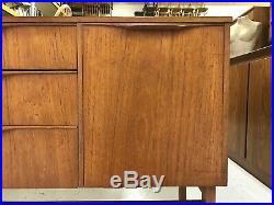 Stunning Retro Teak Sidebaord Vintage Mid Century TV Stand Chest of Drawers