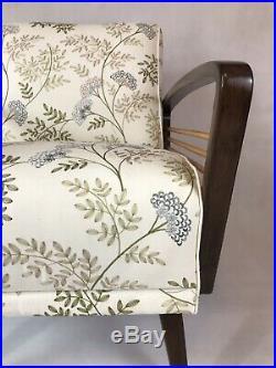 Unique vintage retro luxury danish design redesigned mid century armchair chair