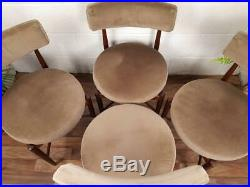 Vintage 1970's G Plan Teak Extending Dining Table & 4 Chairs Mid-Century Retro