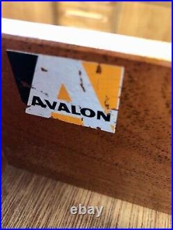 Vintage 60s Avalon Tallboy Teak Chest of Drawers. Retro G Plan Danish Mid Century