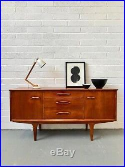 Vintage 60s JENTIQUE Teak Sideboard. Danish Retro G Plan Mid Century. DELIVERY