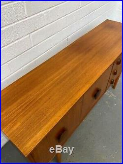 Vintage 60s STONEHILL Teak Sideboard. Danish Retro G Plan Mid Century. DELIVERY