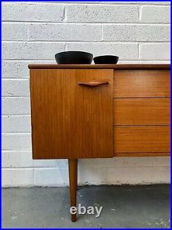 Vintage Austinsuite Teak Sideboard. Danish Retro G Plan. Mid Century DELIVERY