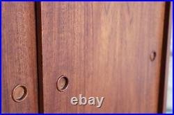 Vintage Danish Record Cabinet / Filing Cabinet MID Century Retro