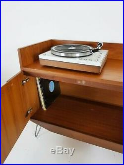 Vintage Danish Sideboard / Record Cabinet MID Century