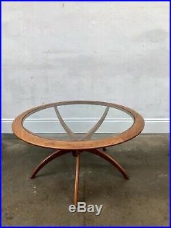 Vintage G Plan Spider Astro Teak Coffee Table. Danish Retro Mid Century DELIVERY