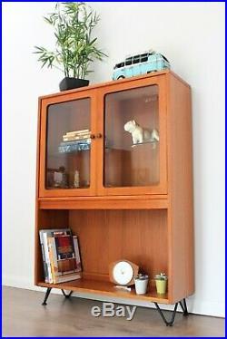 Vintage G plan Bookcase Teak Shelving Hairpin legs Mid Century (Safe coll/Del)