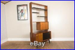 Vintage Mid Century G Plan Librenza Room Divider Wall Unit