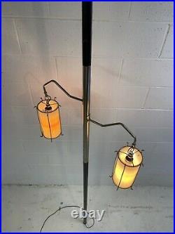 Vintage Mid Century Modern Tension Pole Lamp Retro 1960's
